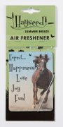 Air Freshener with Horses