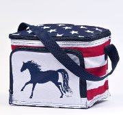"""Stars and Strips"" All American Lunch Box Cooler"