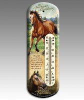 American Mustang Back Porch Thermometer