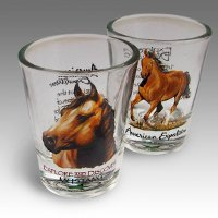American Mustang Shot Glass Set
