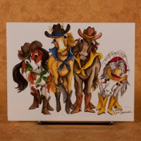 """Horse Girls"" - All Occasion Card"