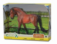 Andalusian Stallion - Bright Bay in Gift Box 1:12 scale Replica