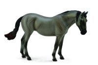 Lusitano Grey Mare - 1:12 Scale Model Horse