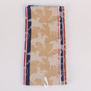 Cowboy and Horse themed Jacquard Kitchen Towel Towel