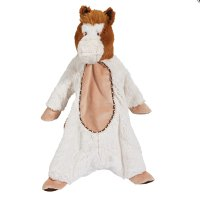 Cream Horse Sshlumpie baby blanket and plush horse Ages 0+