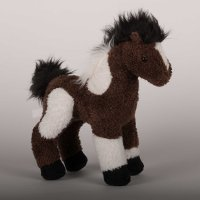 """Durango"" Indian Paint Plush Horse - 9"""