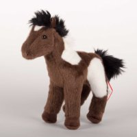 """Aztec"" 8"" Indian Paint Plush Horse"