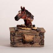 Horse Trinket Western Theme Box