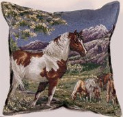 Decorator Horse Throw Pillows