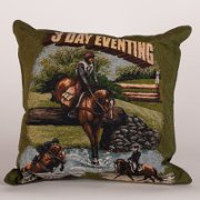 3 Day Eventing Tapestry Pillow