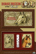 Card and Dice Gift Set - horse breeds from around the world