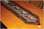 Horses Table Runner