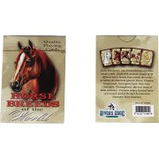 Playing Card set - Horse breeds from around the world