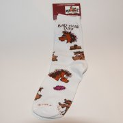 """Bad Hair Day"" Ladies Sock with Funny Horses"