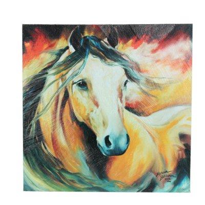 Buckskin Wild Canvas Wall Art By Marcia Baldwin
