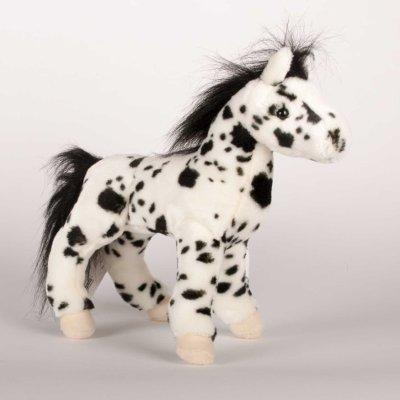 """Hera"" Black Appaloosa Horse - 12"" Plush Horse"