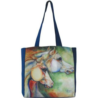 Gentle Spirits - tote bag with artwork by Marcia Baldwin