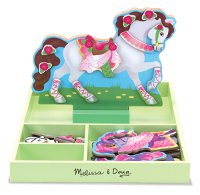 My Horse Clover Magnetic Dress-Up Horse Set