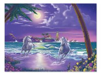 Seaside Stallions Jigsaw Puzzle - 500 pieces
