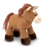 Sweater Sweetie Stuffed Horse for - All ages 0+