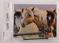 Horse Trio - Everyday Note Card set