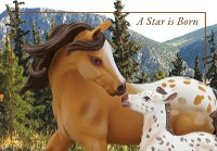 """A Star is Born"" - Trail of Painted Ponies Figurine"