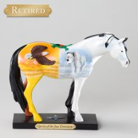 """Four Directions Pony"" - Trail of Painted Ponies Figurine"
