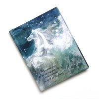 """A Gift From the Sea"" Horse Themed Journal"