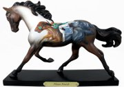 """Photo Finish"" - Trail of Painted Ponies Horse Racing Figurine"