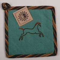 Sedona Horse Pot Holder