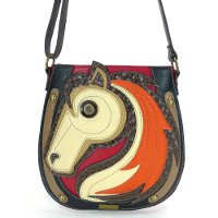 """Artistic Horse"" Deluxe Equine Insipired Cross Body Bag"