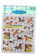 Horse Sticker Set - Horses, Foals and Treats