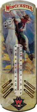 Winchester Vintage Cowboy Thermometer
