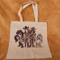 Horse Girls - tote bag - Value Line