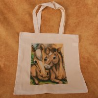 Mare and Foal - tote bag - Value Line