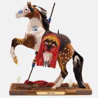 """War Cry"" - Trail of Painted Ponies Figurine"