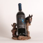 Horse Theme Wine Bottle Holder - Western